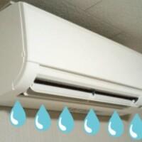 エアコン水漏れ画像